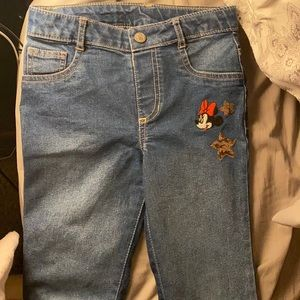 Girls Minnie Mouse jeans